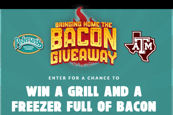 Bringing home the Bacon Giveaway