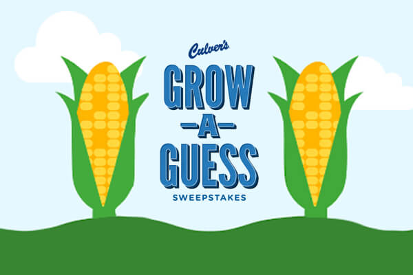 Culvers Grow A Guess Sweepstakes