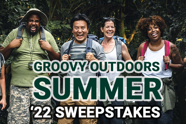 Groovy Outdoors 2022 Sweepstakes