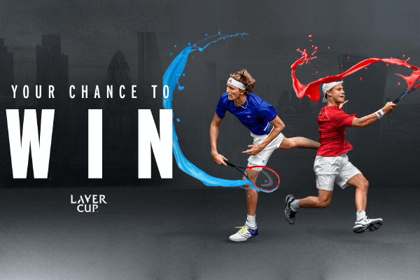 Heads Laver Cup Sweepstakes