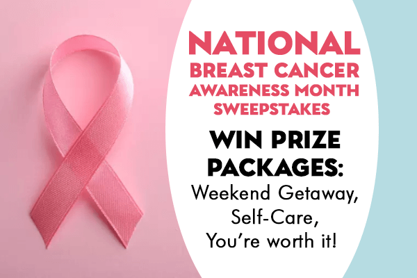 National Breast Cancer Awareness Month Sweepstakes