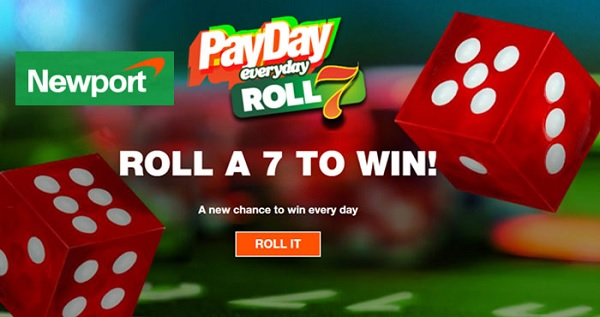 Newport Pleasure Roll 7 Payday Instant Win Game