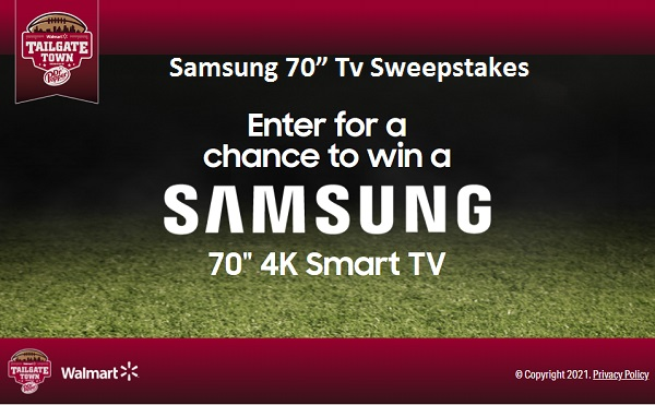 """Dr Pepper Samsung 70"""" TV Sweepstakes"""