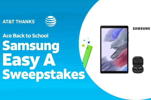 Ace Back To School by AT&T Thanks Sweepstakes