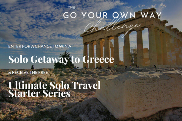 Go your Own Way Challenge Sweepstakes