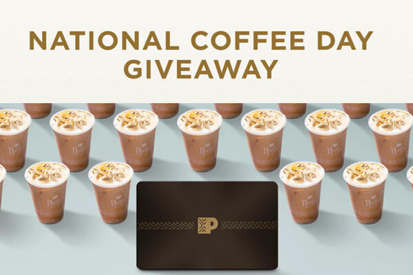 Peet's National Coffee Day Giveaway