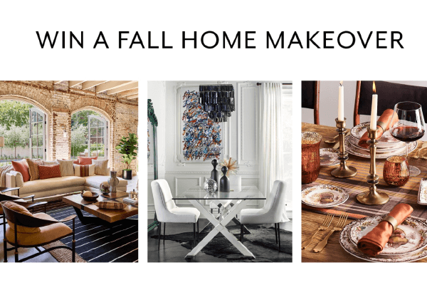 Fall Home Makeover sweepstakes